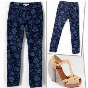 Boston Proper Jeans - BOSTON PROPER MULTI DUSTY ROSE BLUE SKINNY JEANS